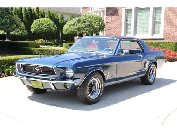 1968 ford mustang for sale in plymouth michigan classified. Black Bedroom Furniture Sets. Home Design Ideas