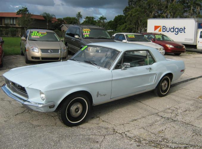 1968 ford mustang for sale in tarpon springs florida classified. Black Bedroom Furniture Sets. Home Design Ideas