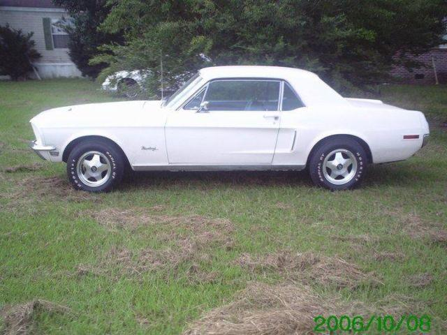 1968 ford mustang coupe for sale in conway south carolina classified. Black Bedroom Furniture Sets. Home Design Ideas