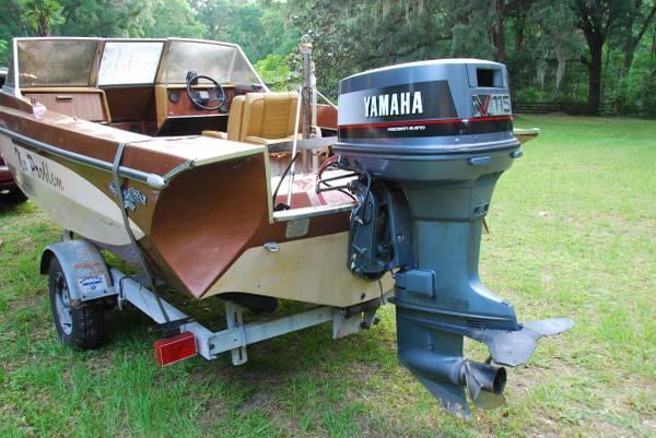 1968 Glastron Fish And Ski 1989 Yamaha 115 1968 Boat