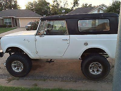 1968 international scout 800 offroad