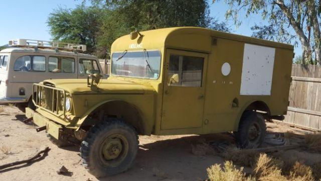 1968 jeep kaiser 4x4 ambulance for sale in maricopa arizona classified. Black Bedroom Furniture Sets. Home Design Ideas