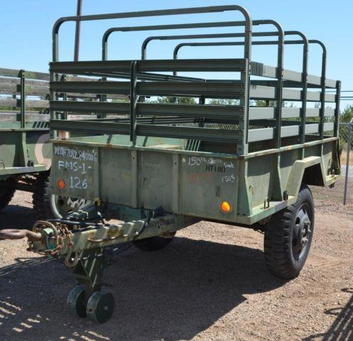1968 Johnson Military Trailer For Sale In Chico