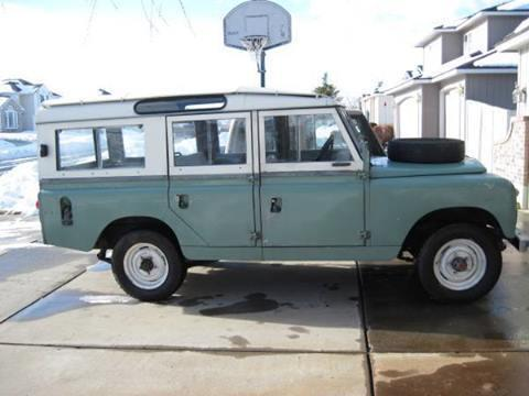 1968 land rover wa for sale in spokane washington classified. Black Bedroom Furniture Sets. Home Design Ideas