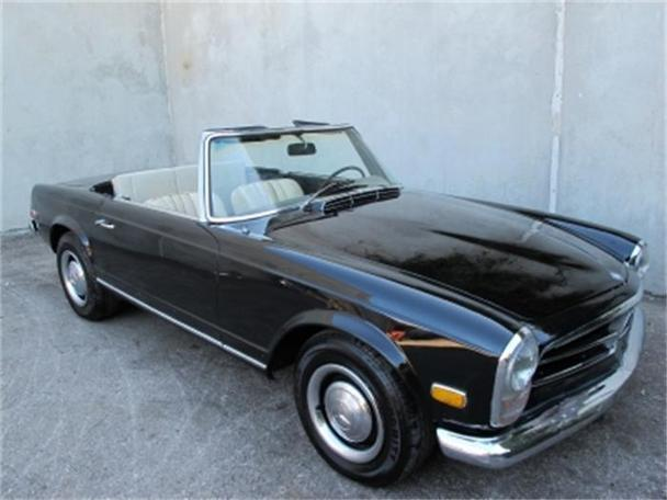 1968 mercedes benz 250sl for sale in beverly hills for Mercedes benz 1968 for sale