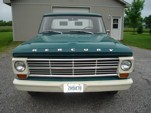1968 MERCURY TRUCK           ONLY 23000 MILES