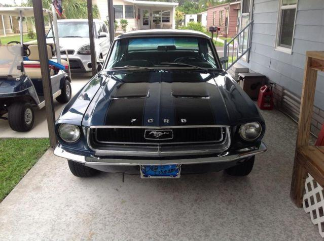 1968 mustang coupe for sale in fort pierce florida classified. Black Bedroom Furniture Sets. Home Design Ideas
