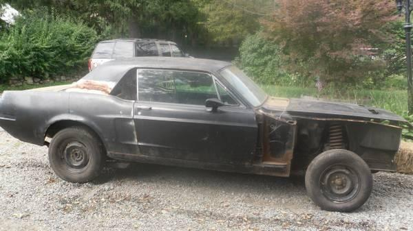 1968 Mustang Coupe Project Car - Have all parts + Xtra ...1968 Mustang Coupe Build