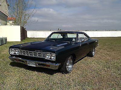1968 plymouth road runner 440 4speed hurst sweet sweet muscle car for sale in alton texas. Black Bedroom Furniture Sets. Home Design Ideas