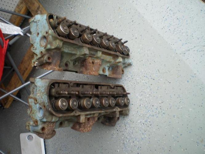 1968 pontiac v8 cylinder heads casting 15 gto lemans