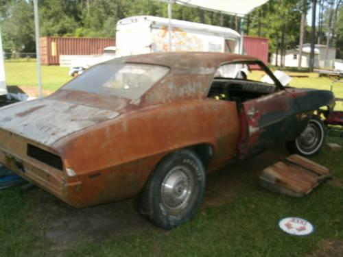 1969 Basic Camaro Project For Sale In Mobile Alabama