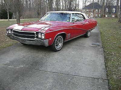 1969 buick skylark red convertible for sale in pleasant garden north carolina classified. Black Bedroom Furniture Sets. Home Design Ideas
