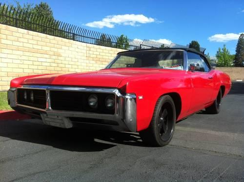 1969 Buick Wildcat Classic Muscle 455 V8 for Sale in Greenbrae, Nevada