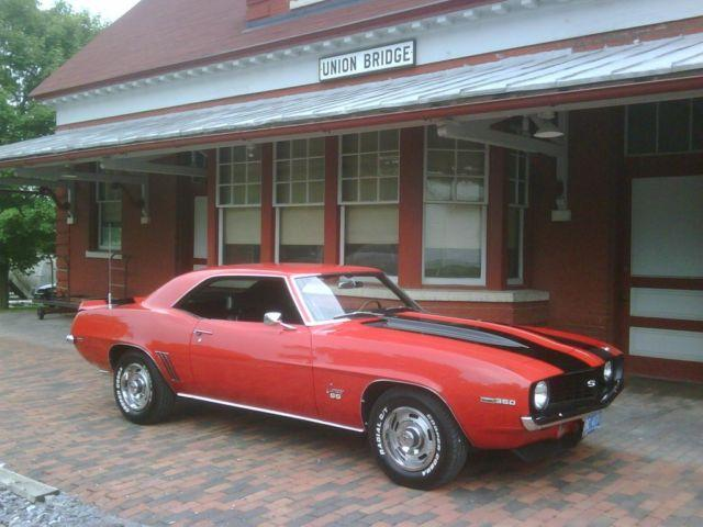 1969 Camaro Ss 350 For Sale In Woodsboro Maryland