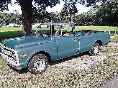 1969 Chevrolet c10 longbed 396 BIG BLOCK V/8 rat rod