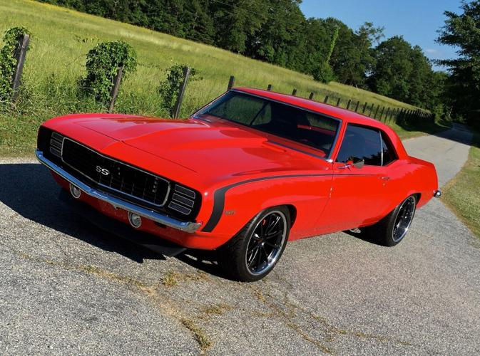 1969 Chevrolet Camaro 69 Custom Ls3 Supercharged T56