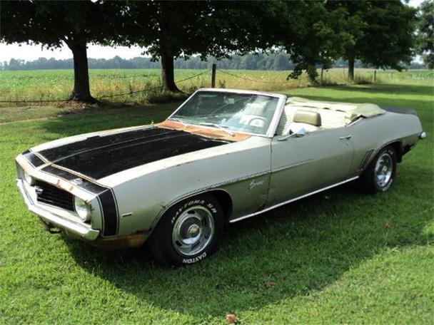 1969 chevrolet camaro for sale in creston ohio classified. Black Bedroom Furniture Sets. Home Design Ideas