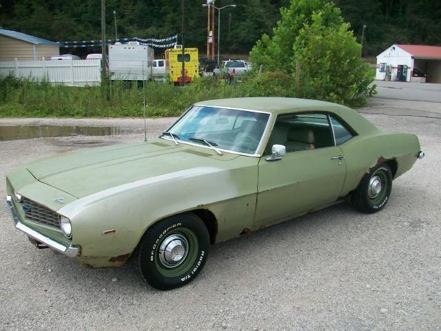 1969 Chevrolet Camaro For Sale In Louisa Kentucky
