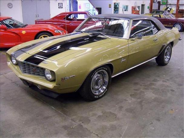 1969 Chevrolet Camaro For Sale In Sarasota Florida