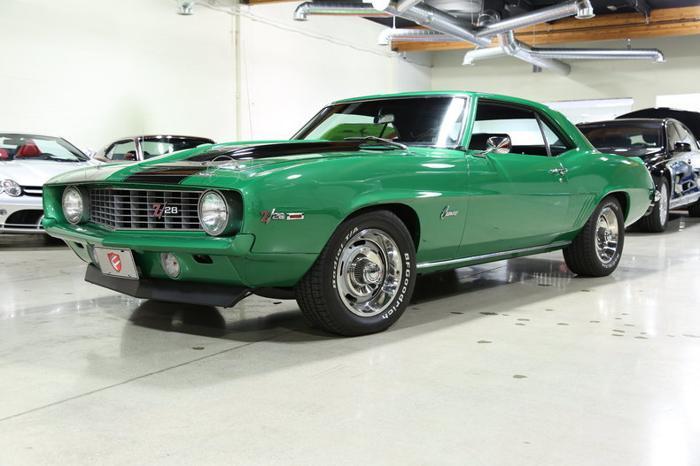 1969 Chevrolet Camaro For Sale In Chatsworth California