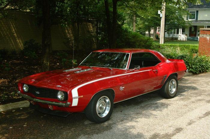 1969 Chevrolet Camaro Factory Ss396 X22 For Sale In