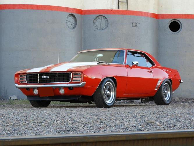 1969 Chevrolet Camaro Red RS for Sale in Antioch, California