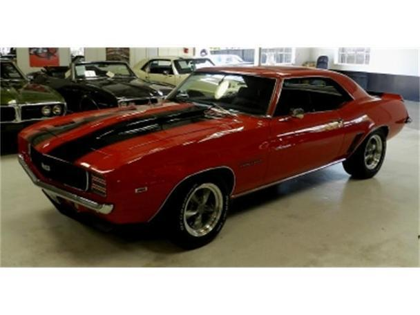 1969 Chevrolet Camaro Rs For Sale In Benicia California