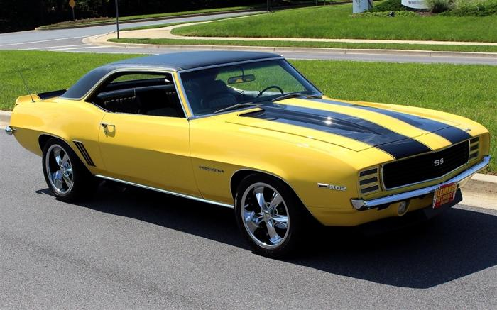 1969 Chevrolet Camaro RS Pro-Touring Yello
