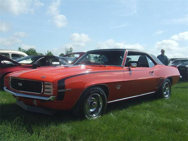 1969 chevrolet camaro rs ss for sale in new lenox. Black Bedroom Furniture Sets. Home Design Ideas