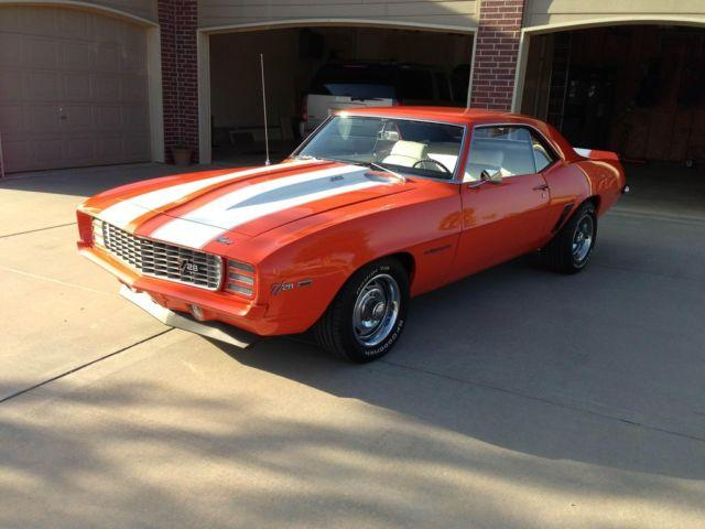 1969 Chevrolet Camaro Rs Z28 Recreation For Sale In