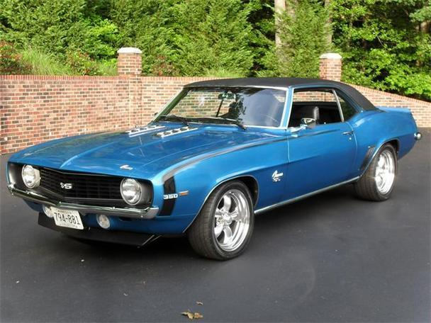 1969 Chevrolet Camaro Ss For Sale In Huntingtown Maryland