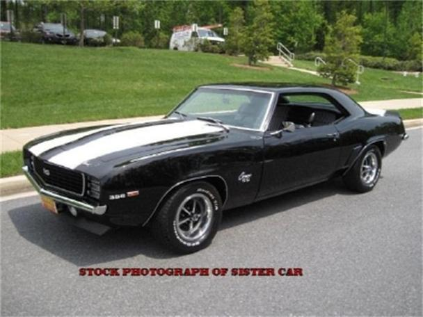 1969 Chevrolet Camaro Ss For Sale In Rockville Maryland