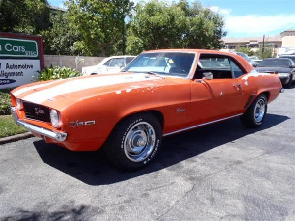 1969 chevrolet camaro z28 for sale in thousand oaks california classified. Black Bedroom Furniture Sets. Home Design Ideas