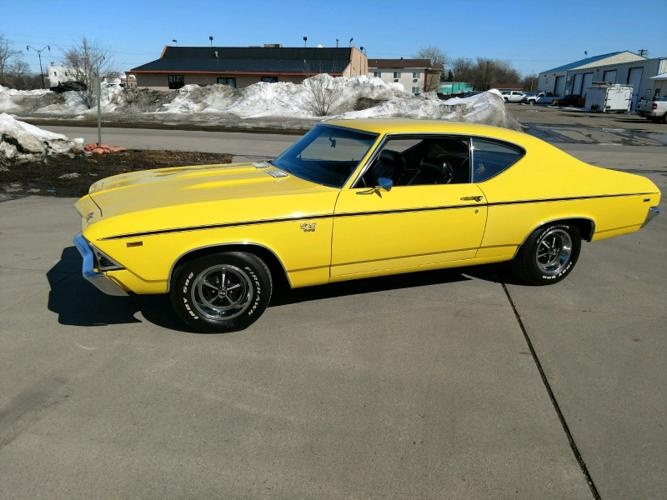 1969 Chevrolet Chevelle SS 396 4 Speed Manual Yellow