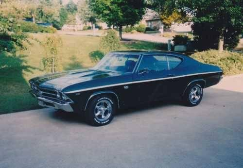 1969 Chevrolet Chevelle SS American Classic in Roanoke,