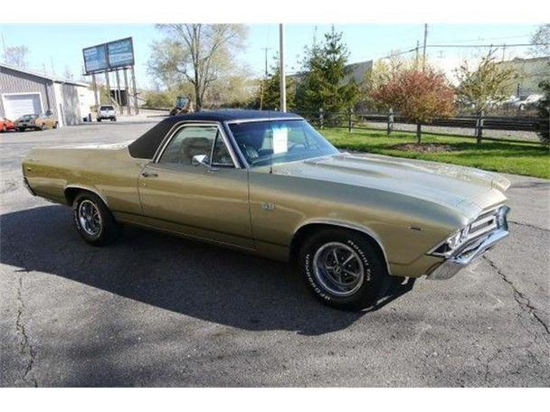 1969 chevrolet el camino for sale in lansing michigan. Black Bedroom Furniture Sets. Home Design Ideas
