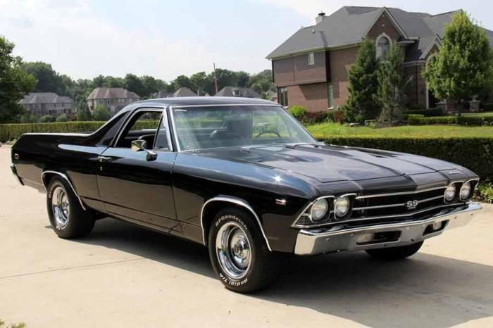 1969 chevrolet el camino ss for sale in la vernia texas. Black Bedroom Furniture Sets. Home Design Ideas