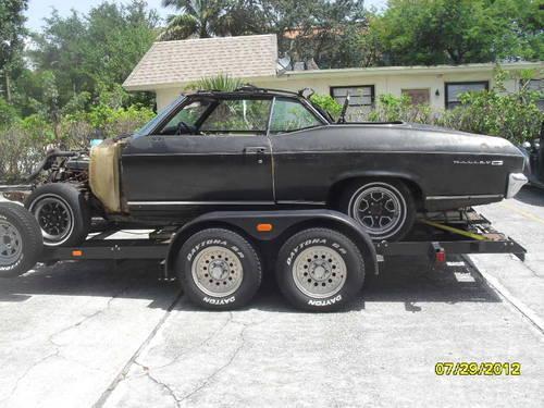 1969 chevy chevelle malibu convertible v8 stick shift car for sale in boca raton florida. Black Bedroom Furniture Sets. Home Design Ideas