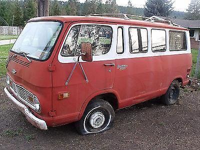 1969 Chevy Sportsman Custom BARN FIND Van For Sale In Nine Mile Falls Washington