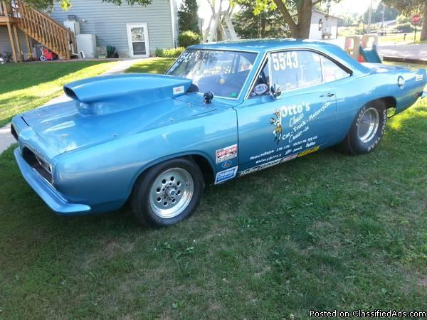 1969 Cuda Drag Car For Sale In Essig Minnesota Classified
