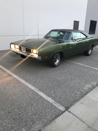 1969 Dodge Charger R.T Automatic Green