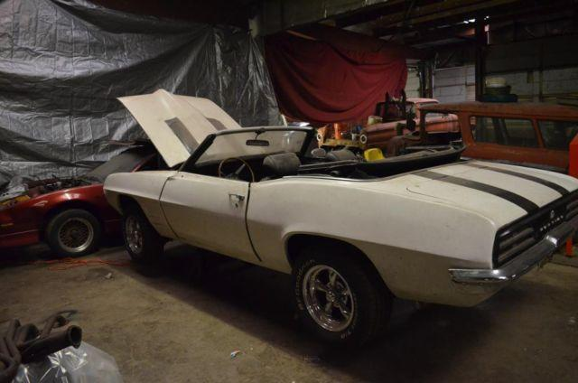 1969 Firebird Convertible 468 Stroker 10 Second car for you