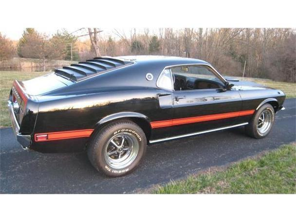 1969 ford mustang mach 1 for sale in milford ohio classified. Black Bedroom Furniture Sets. Home Design Ideas