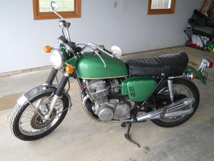 1969 Honda CB750 Rare Sand-cast engine