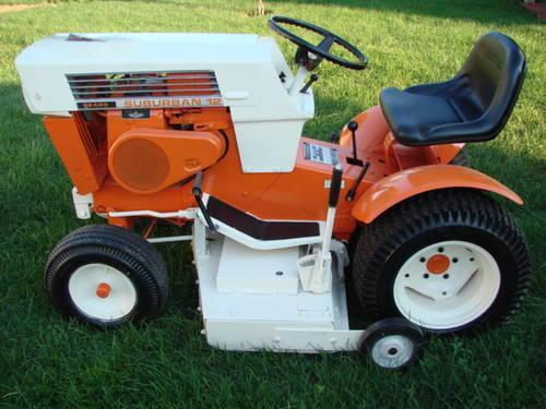 1969 Sears Suburban 12hp Garden Tractor Great Condition