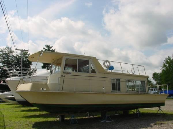 Buy Here Pay Here Ma >> 1970 - 34' Nautaline Houseboat - for Sale in Greenfield ...