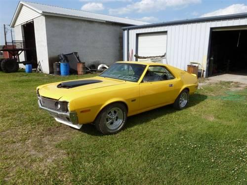 1970 Amc Amx For Sale In Lake Wales  Florida Classified