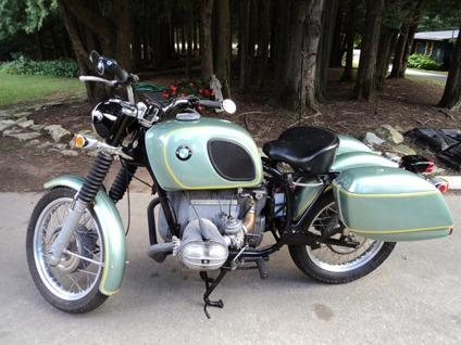 1970 BMW 755 Motorcycle