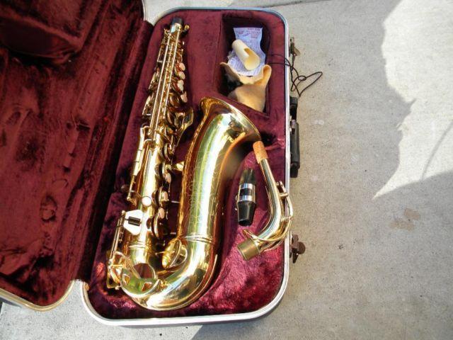 1970 CG Conn alto saxophone,made in Mexico