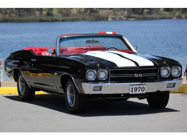 1970 Chevelle LS6 Convertible